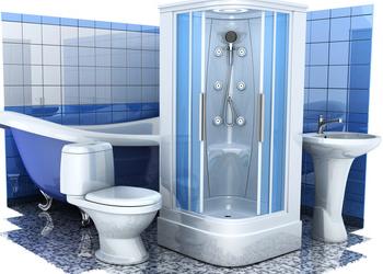 La pose d'une cabine de douche