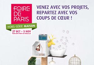 FOIRE DE PARIS HORS-SÉRIE MAISON