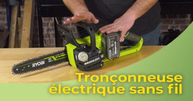 Tronconneuse électrique sans fil