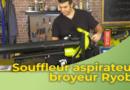 Souffleur aspirateur broyeur Ryobi