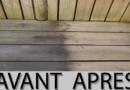 Terrasse en bois : Comment la dégriser sans se ruiner !